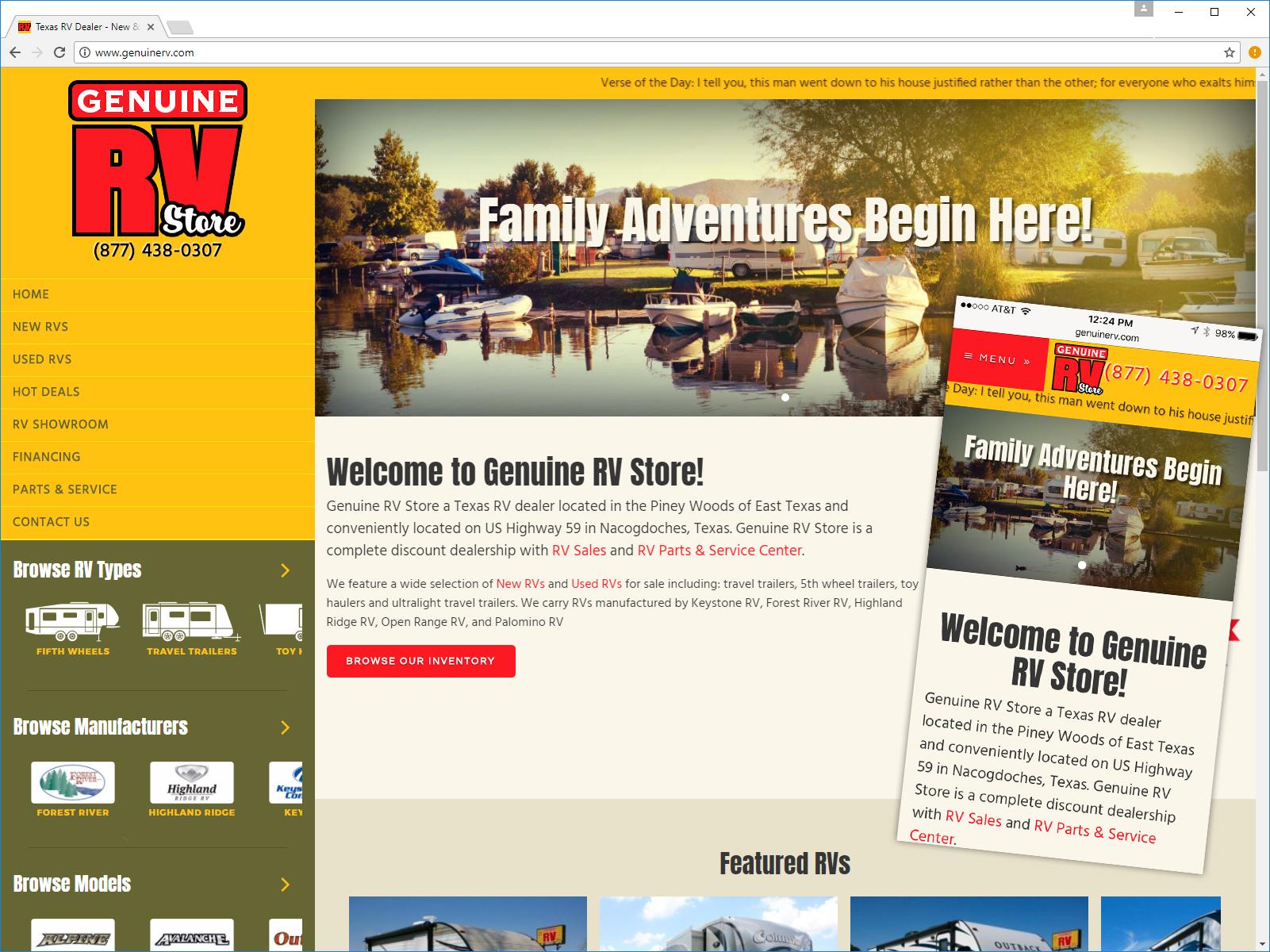 genuine website