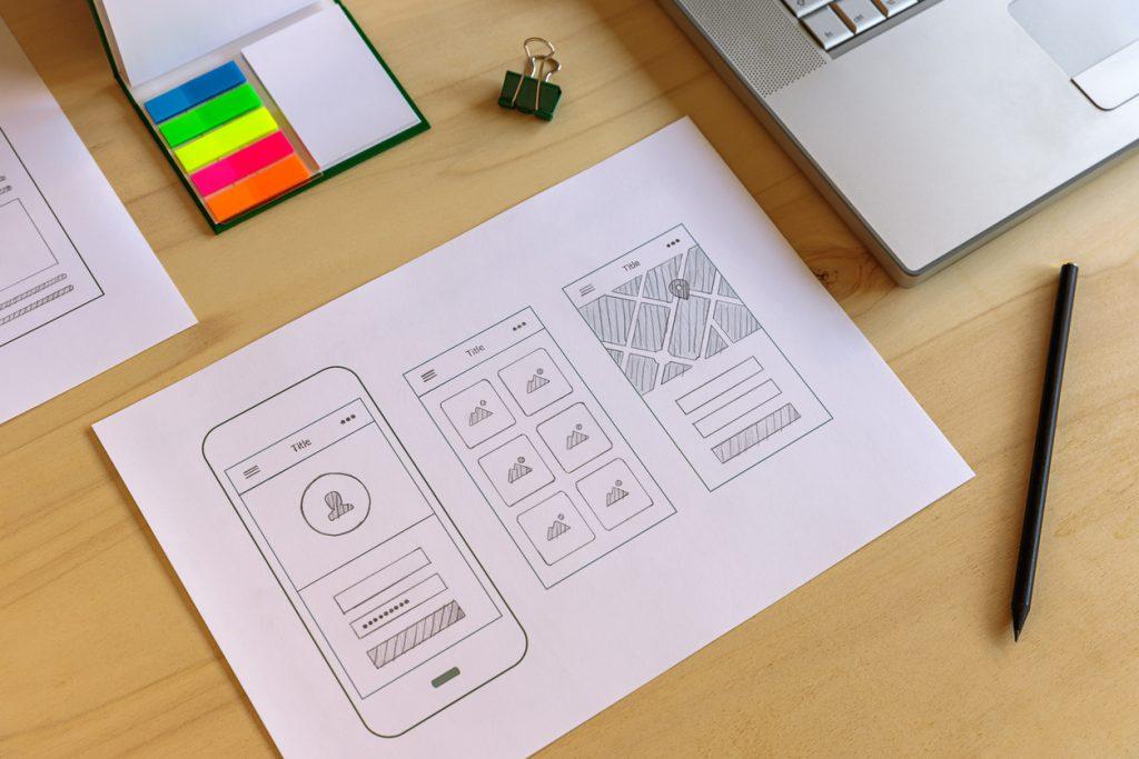 Mobile app prototype