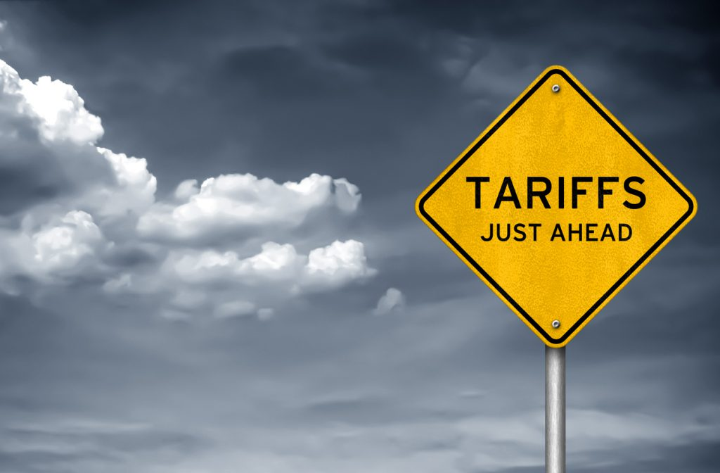 Tariffs - just ahead