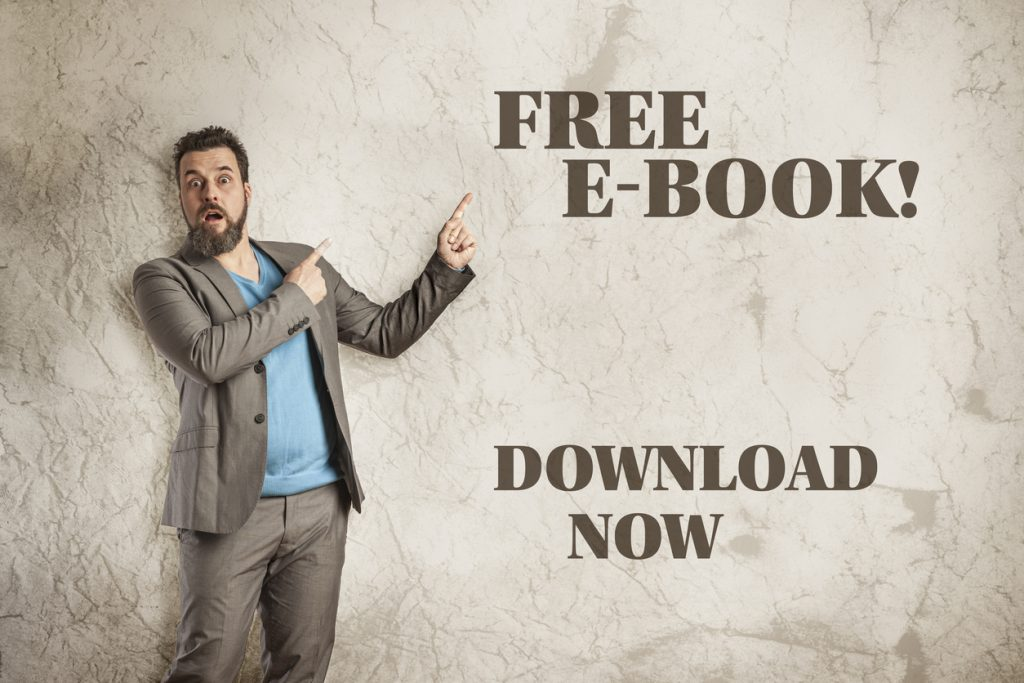 Text Free E-Book, Grunge Wall, surprised casual business man