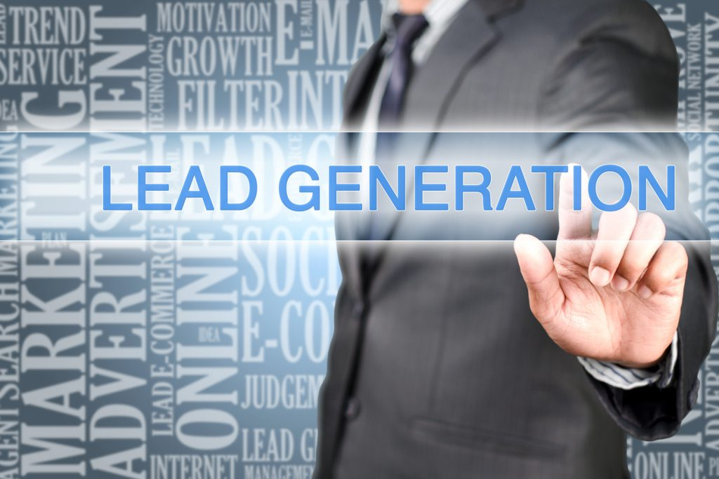 Pointing into lead generation