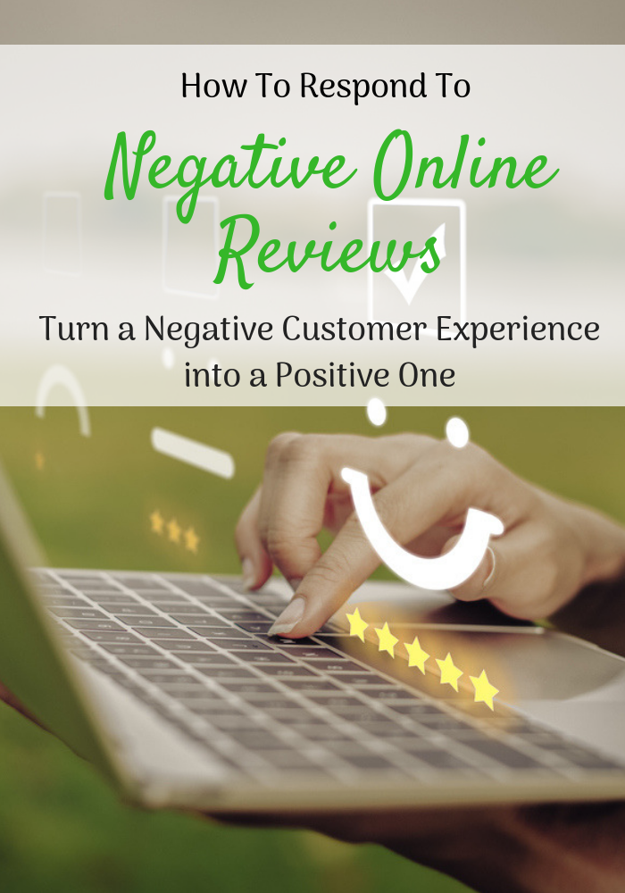 How to Respond to Bad Reviews. Save face, appease your customers, and turn a negative experience into a happy one.