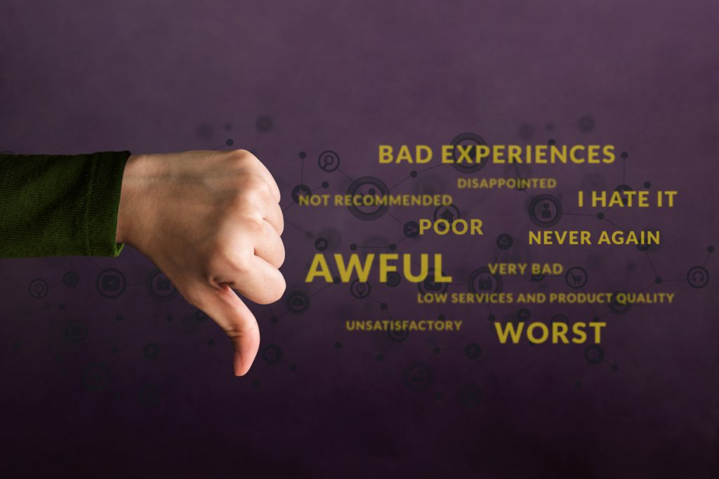 How to respond to bad online reviews