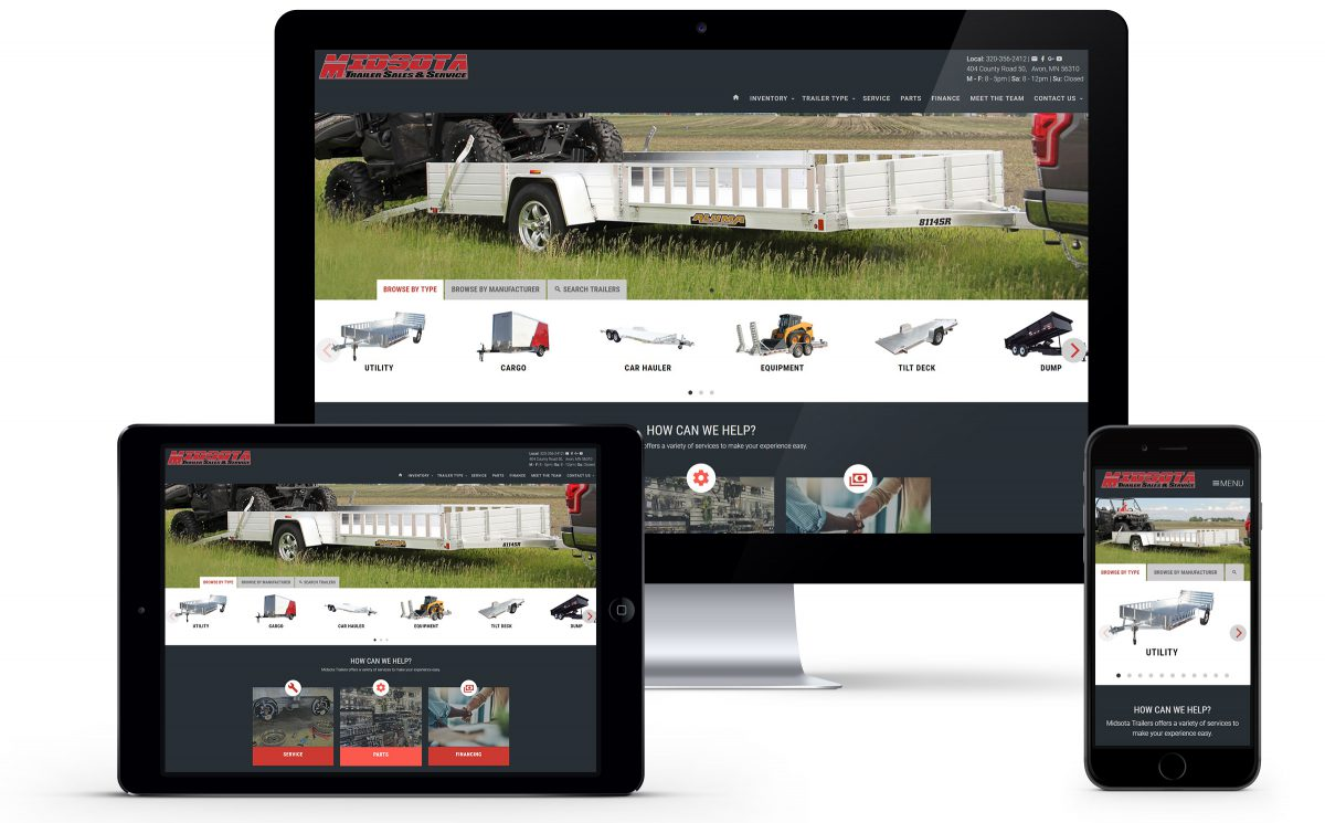 Midsota Trailer Sales Launches Updated Website