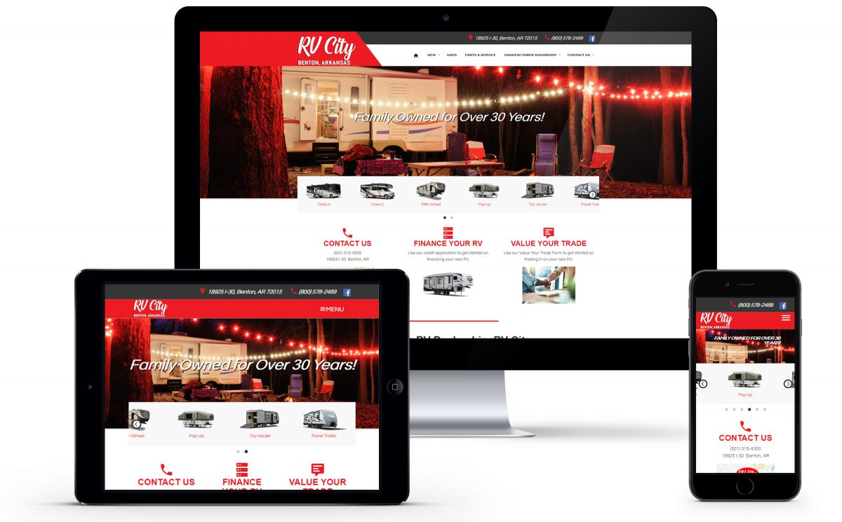 RV City Launches New User Friendly Website