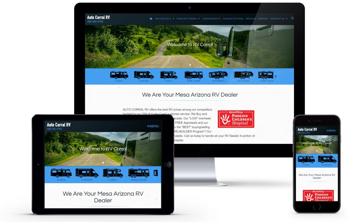 Website Launch: Auto Corral RV