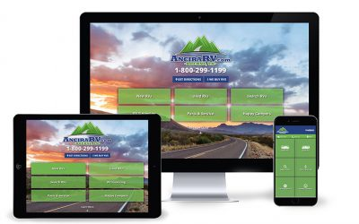 Custom Website for Ancira RV