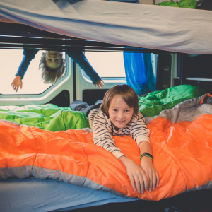 Adventure travel as a family in an rv.