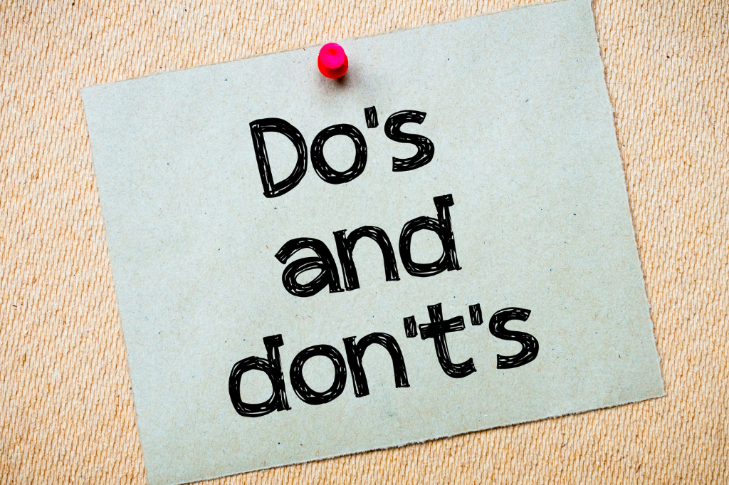 Do's and don't of responding to bad reviews online
